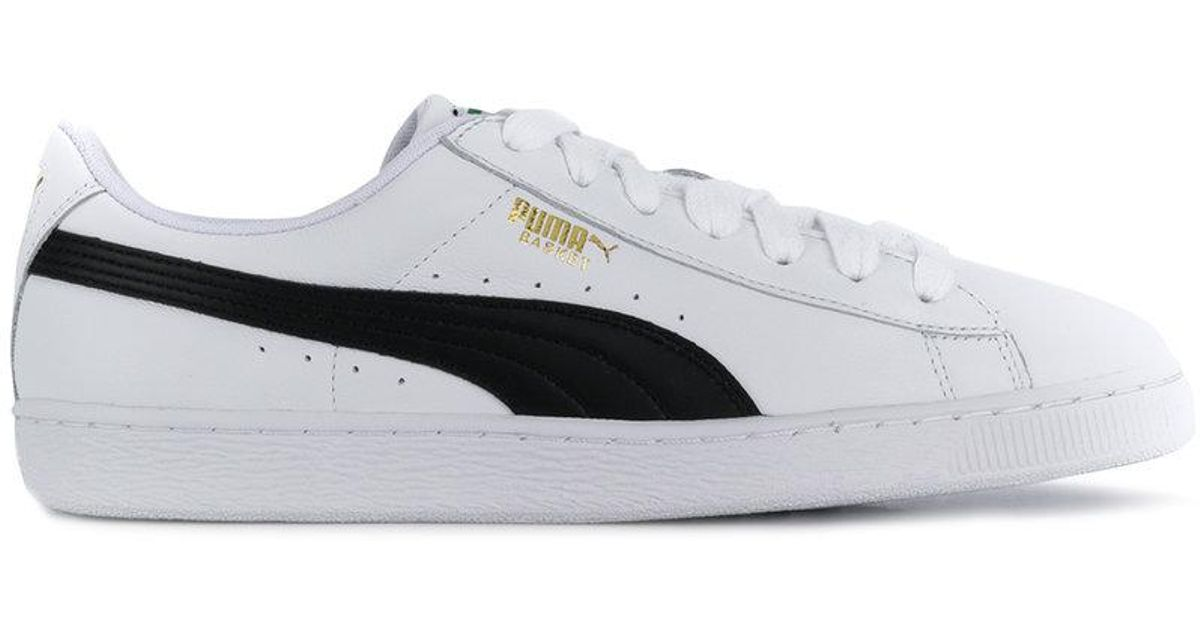 7d646d4b5fd Lyst - PUMA Heritage Basket Classic Sneakers in White for Men