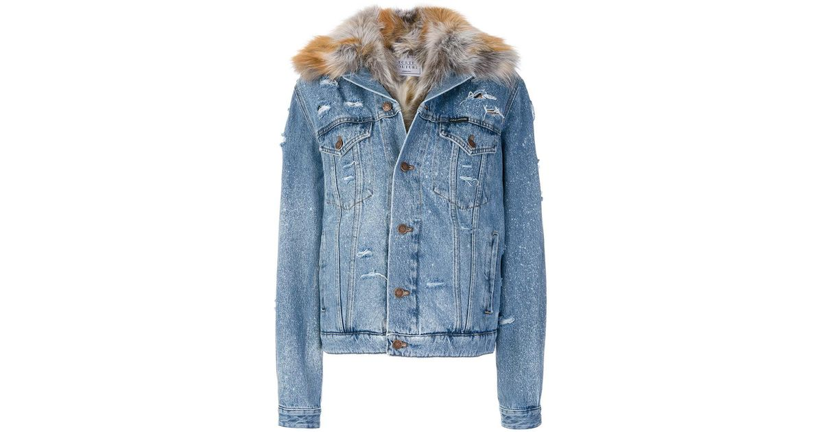 Jacket Lyst Couture Denim Forte In Blue 1Bzwxq