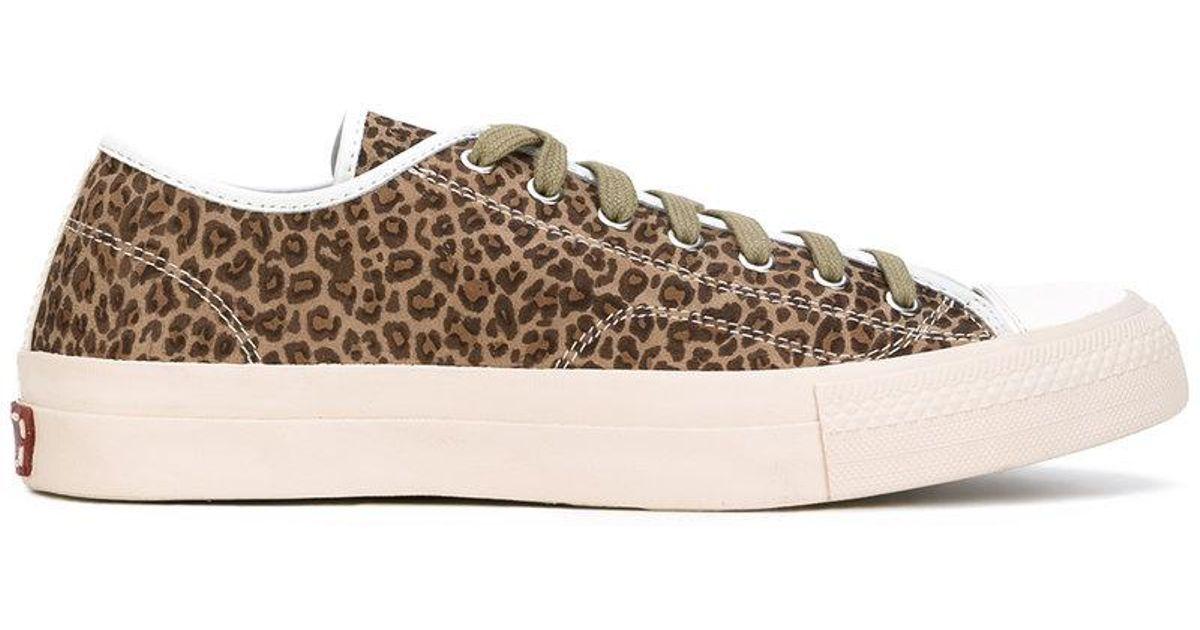 leopard print sneakers - Brown Visvim KZ4qf