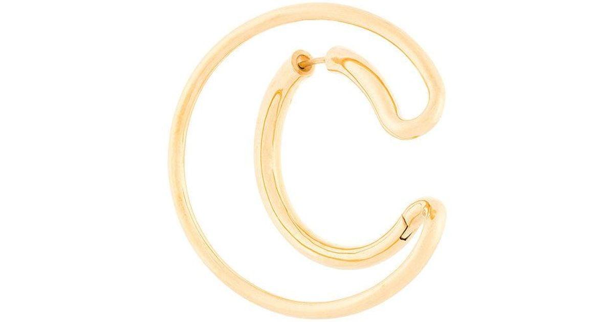 Charlotte Chesnais Ego large earring - Metallic dpnv3HQam