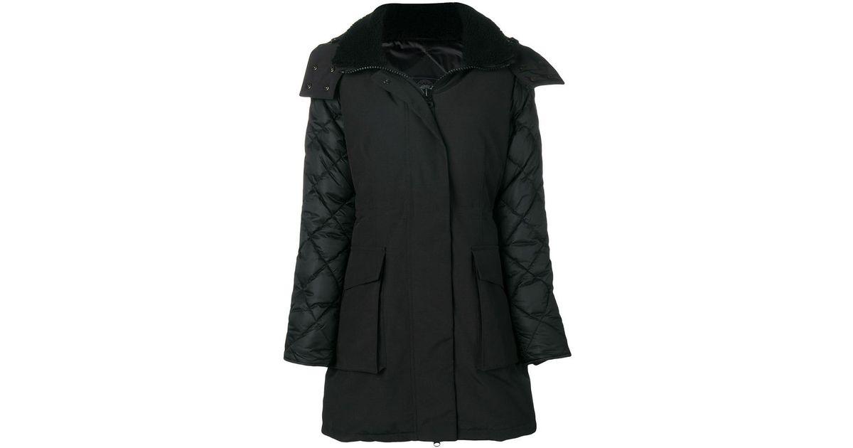 70d5ea3d970 Lyst - Canada Goose Elwin Parka Black Label in Black