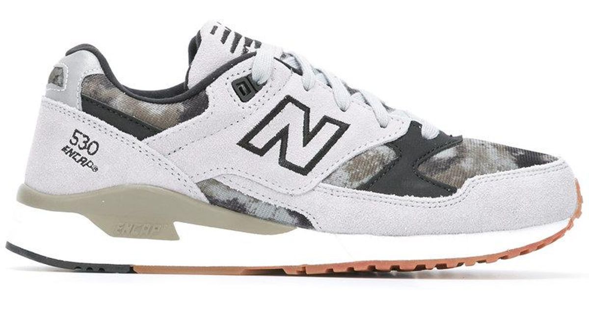 best website 4bb14 722ae New Balance Gray 530 'encap' Logo Trainers