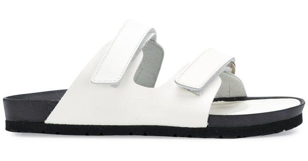 Y's by Yohji Yamamoto Hook-and-Loop Sandals mhTpuW
