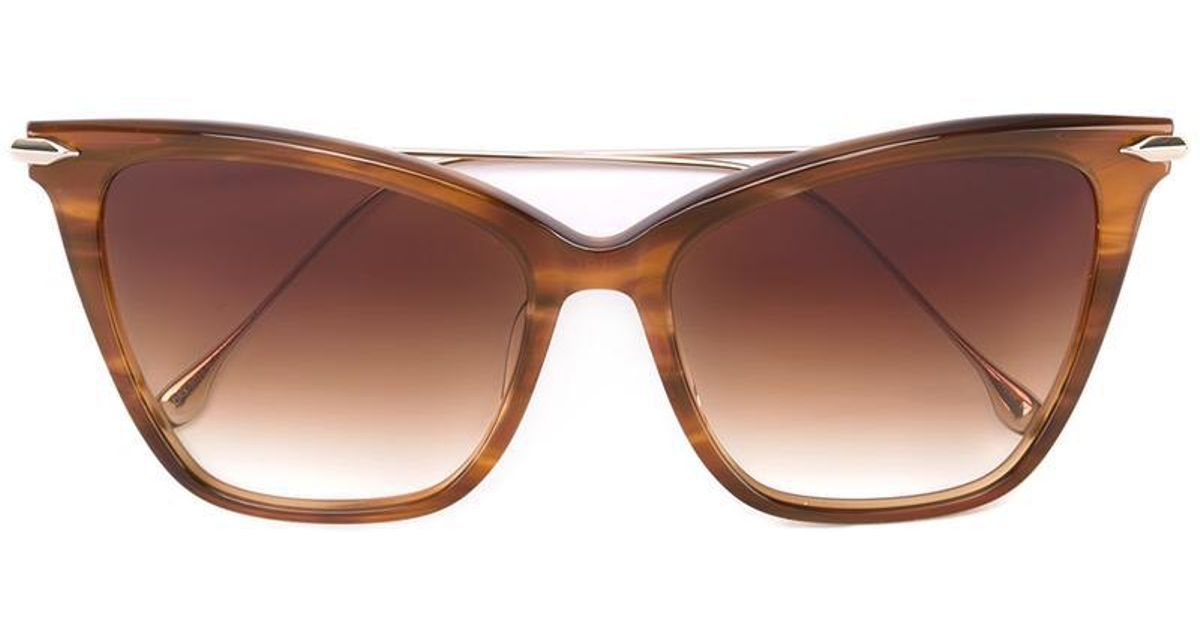 d1ddd3ab1e39 Dita Eyewear  fearless  Sunglasses in Brown - Lyst