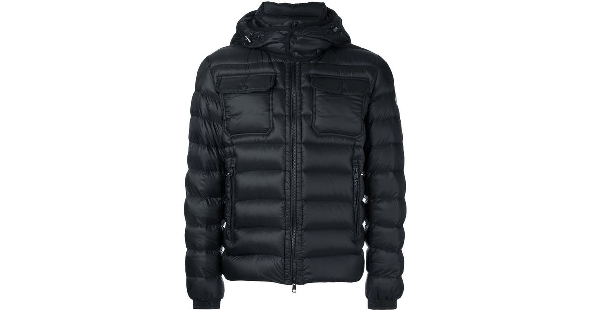 a40fee617 Moncler Black 'valence' Padded Jacket for men