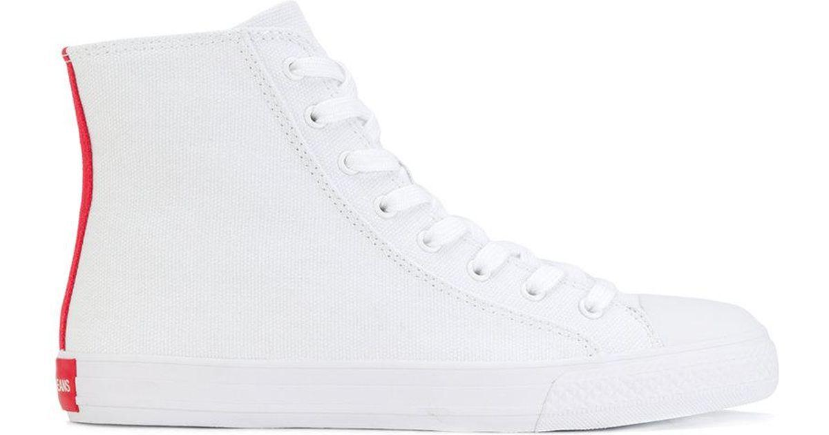 under $60 sale online sale good selling Calvin Klein 205W39nyc lace-up hi-top sneakers Hat9Xjm