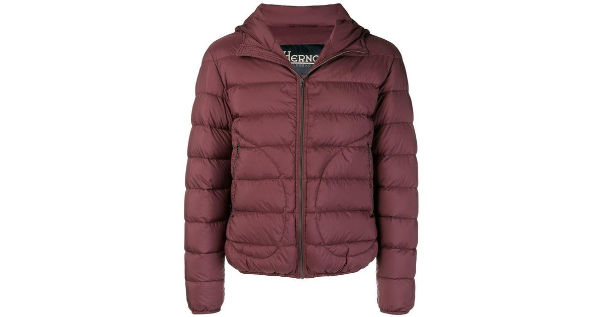 1a73ca74748b5 Herno - Red Legend Padded Jacket for Men - Lyst