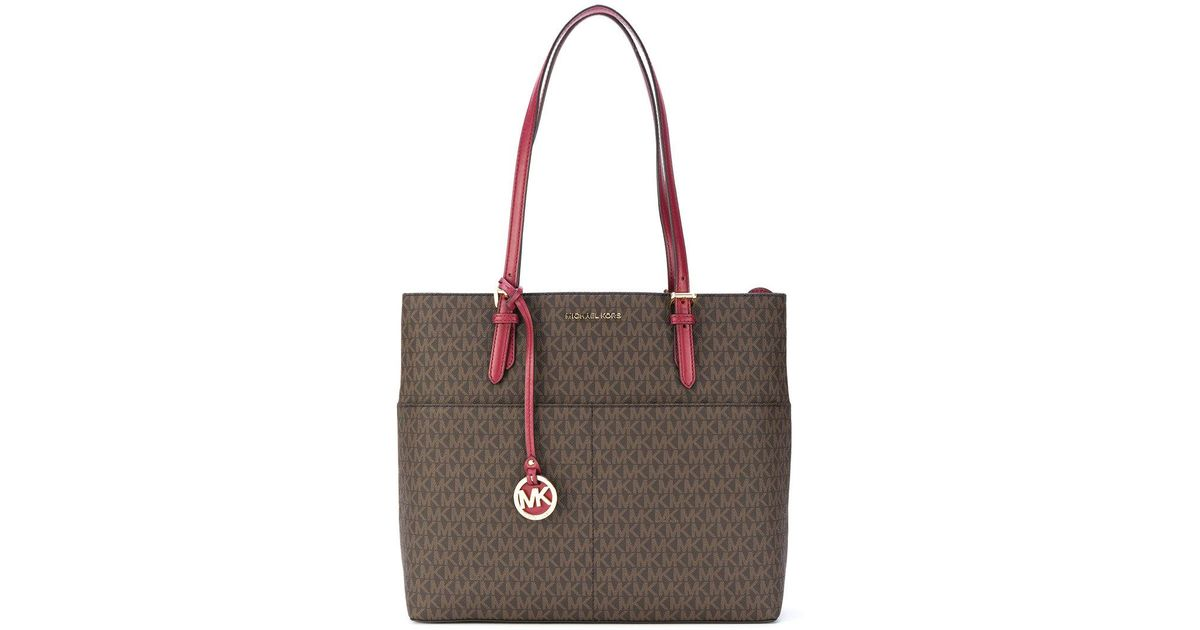 db316eb2f511 Lyst - MICHAEL Michael Kors Bedford Large Pocket Tote in Brown