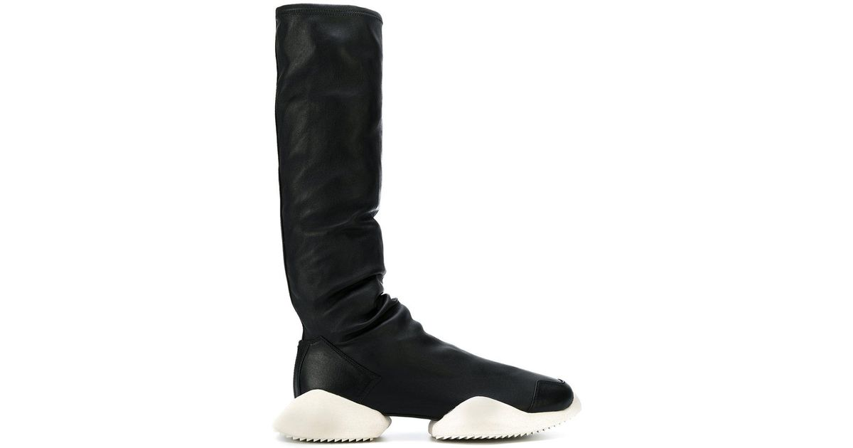 dd01d7ed7 Lyst - Rick Owens Rick Owens X Adidas Runway Boots in Black for Men