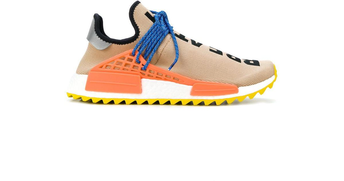 Adidas Originals Blue Pharrell Williams Hu Hiking Nmd_tr Sneakers for Men Lyst