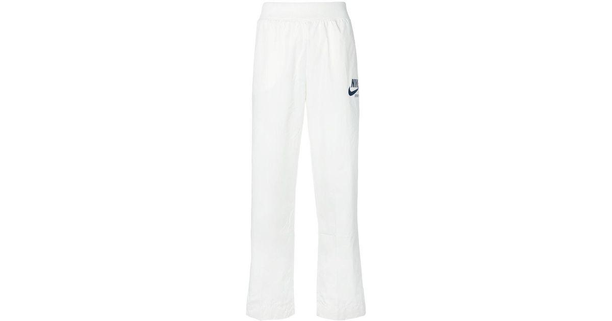 ff21c0654c49 Nike Sportswear Archive Track Pants in White - Lyst
