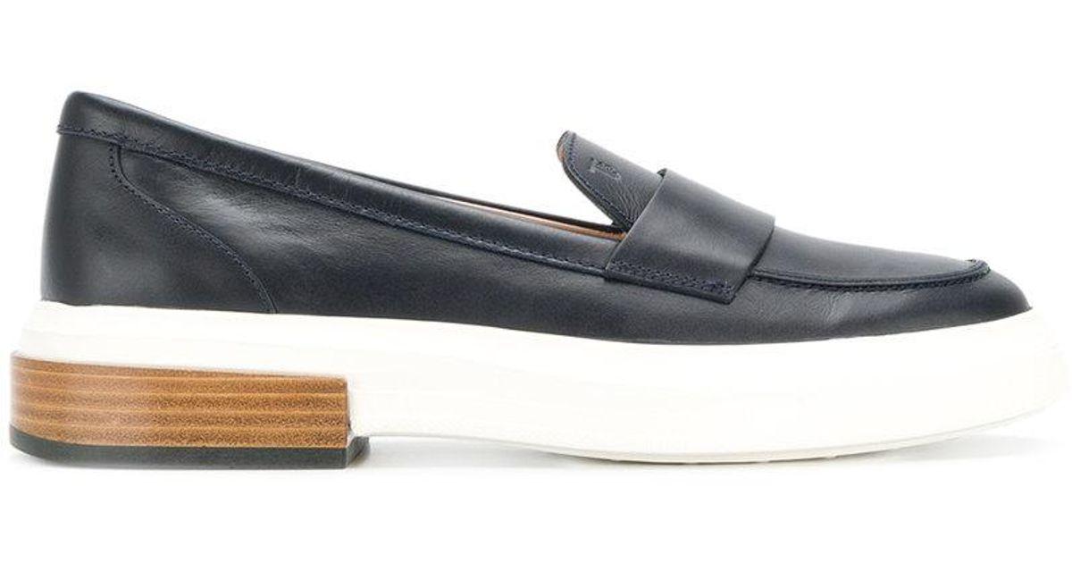 flatform penny loafers - Blue Tod's YxJ2Ne