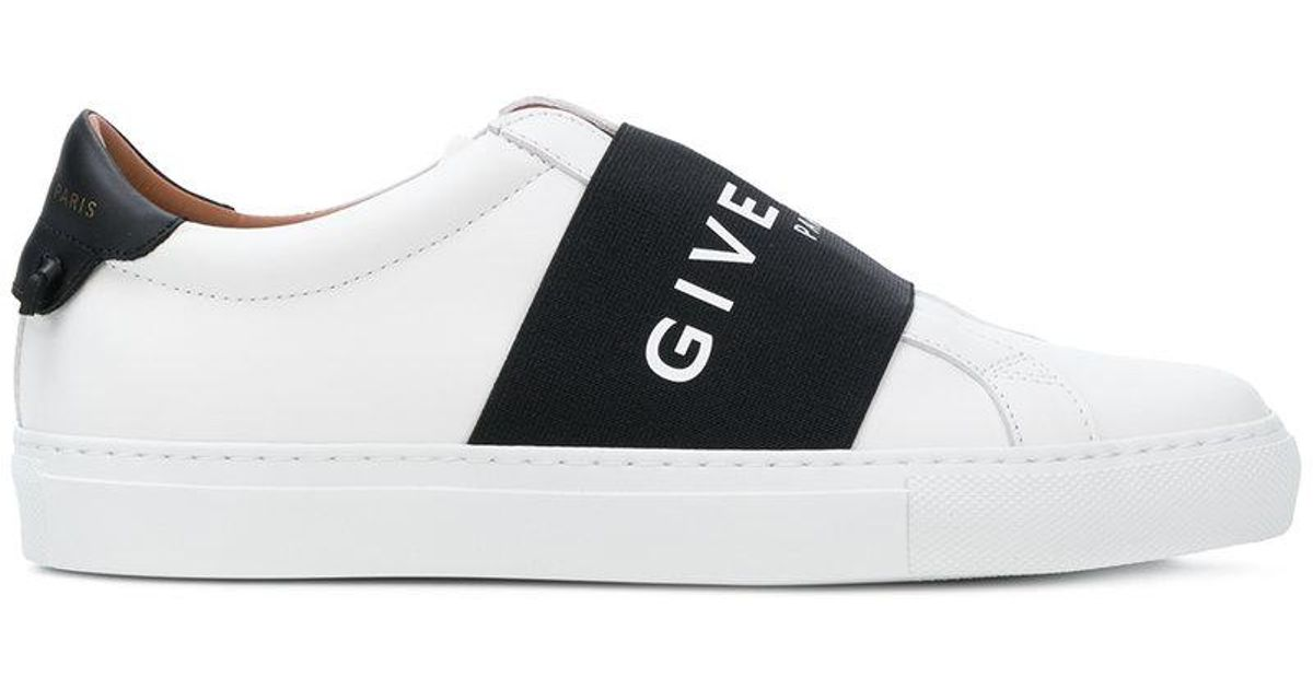 sneakers for cheap best selling hot product Givenchy Leather Elasticated Skate Sneakers in White - Lyst