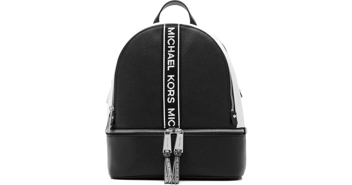 2c4a2be1b85 MICHAEL Michael Kors Rhea Zip Backpack in Black - Save 36% - Lyst