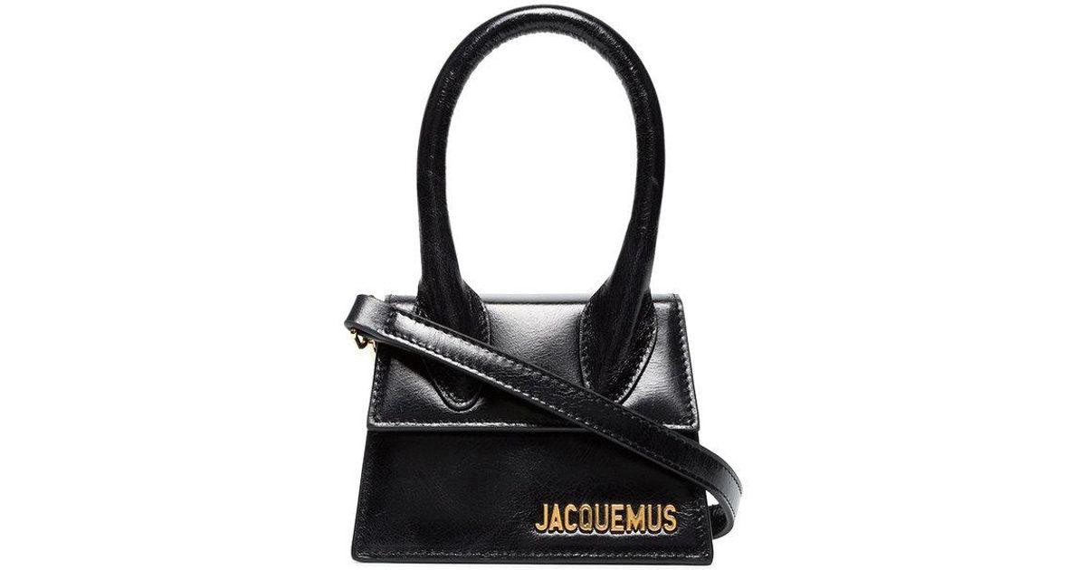 acheter en ligne e69ba d2f91 Mini sac à main Le Sac Chiquito Jacquemus en coloris Black