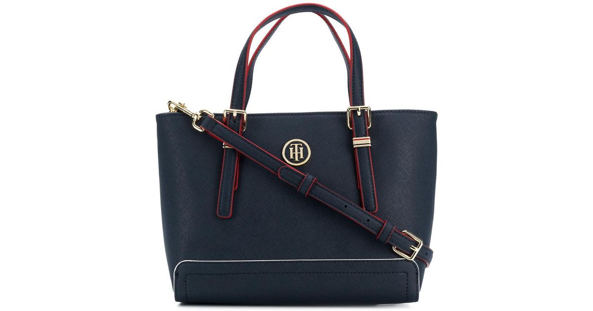 21d2adea17 Tommy Hilfiger Small Tote Bag in Blue - Lyst