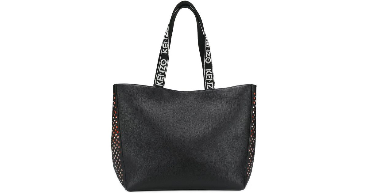 f5f30c79e2 KENZO Sport Tote Bag in Black - Lyst