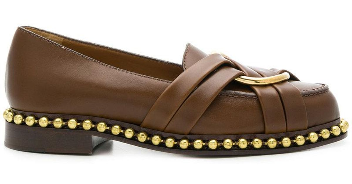 strap detail loafers - Brown Chlo fSyWk1