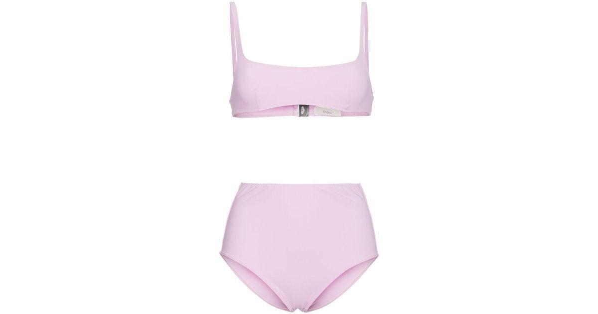 cf56e8b6fe3 Lyst - Araks Quinn Bikini Top And Mallory Hipster Set - Save 17%