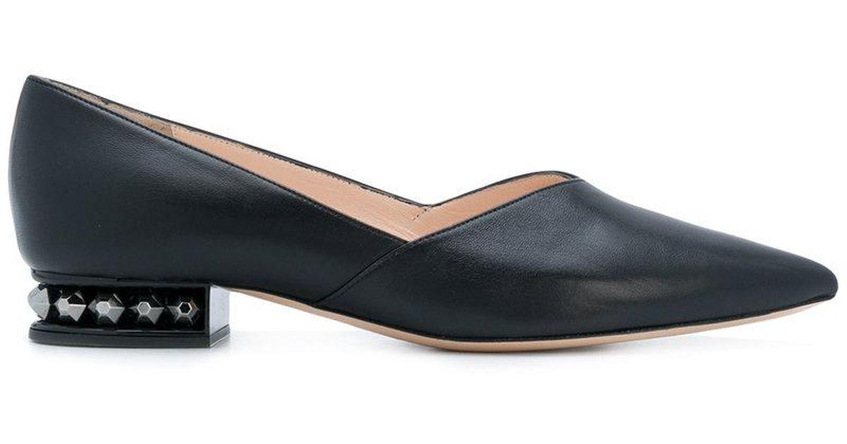 Nicholas Chaussures Kirkwood Derby Suzi - Noir 1SY7s