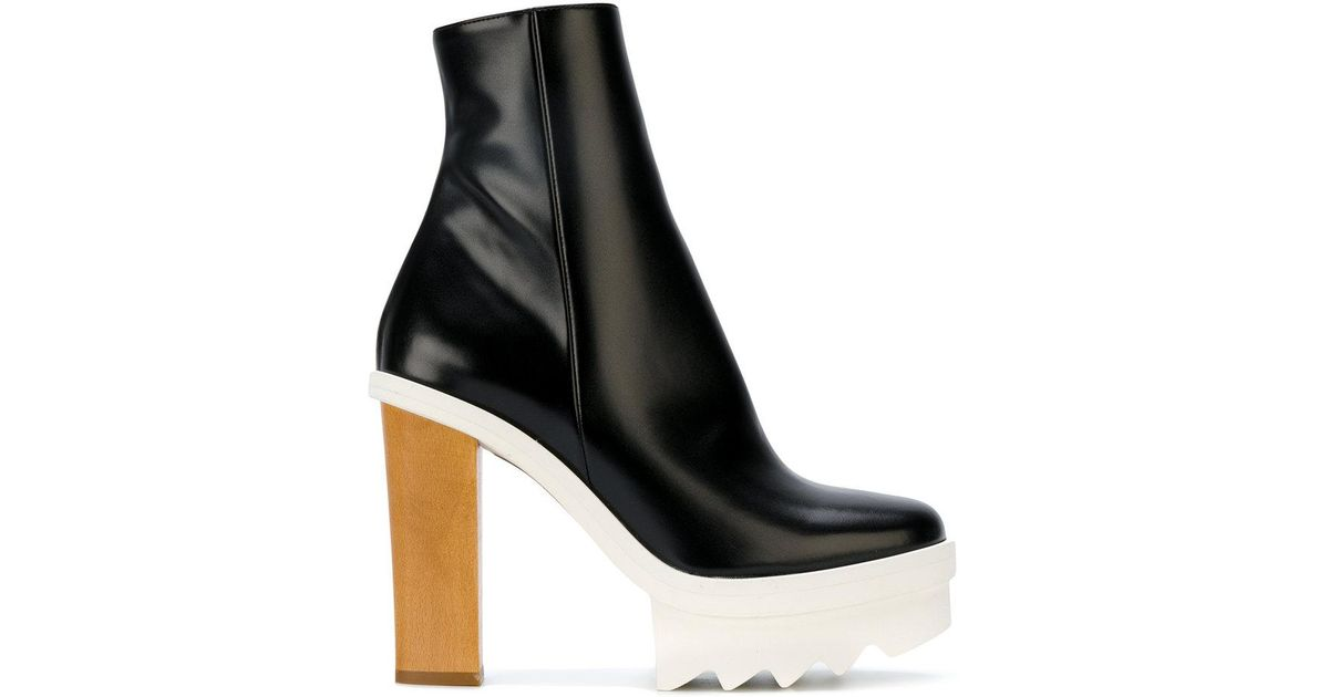 31beb505619 Stella McCartney Black Felix Ankle Boots