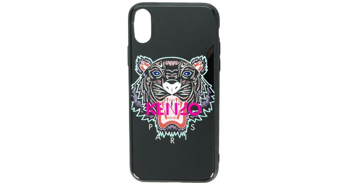 42f4d259ca KENZO Black Tiger Iphone X Case