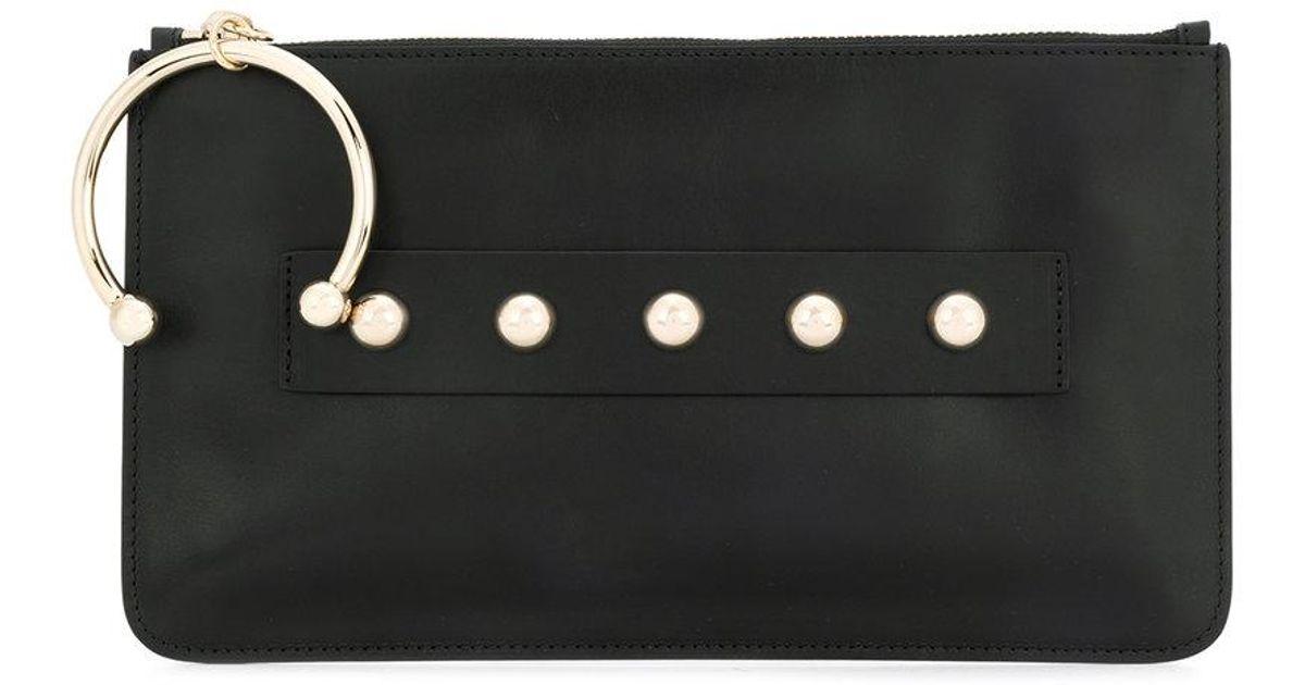 bangle clutch bag - Black Red Valentino kOXybItRMU