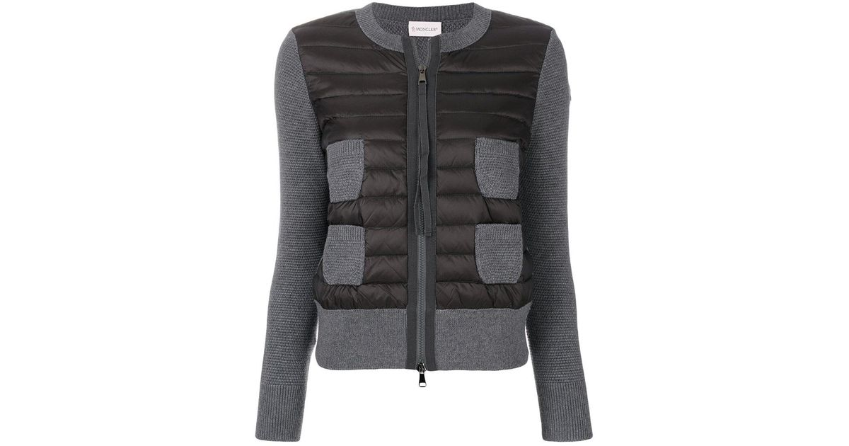 82dc847844e0 Lyst - Moncler Multi-pocket Padded Jacket in Gray