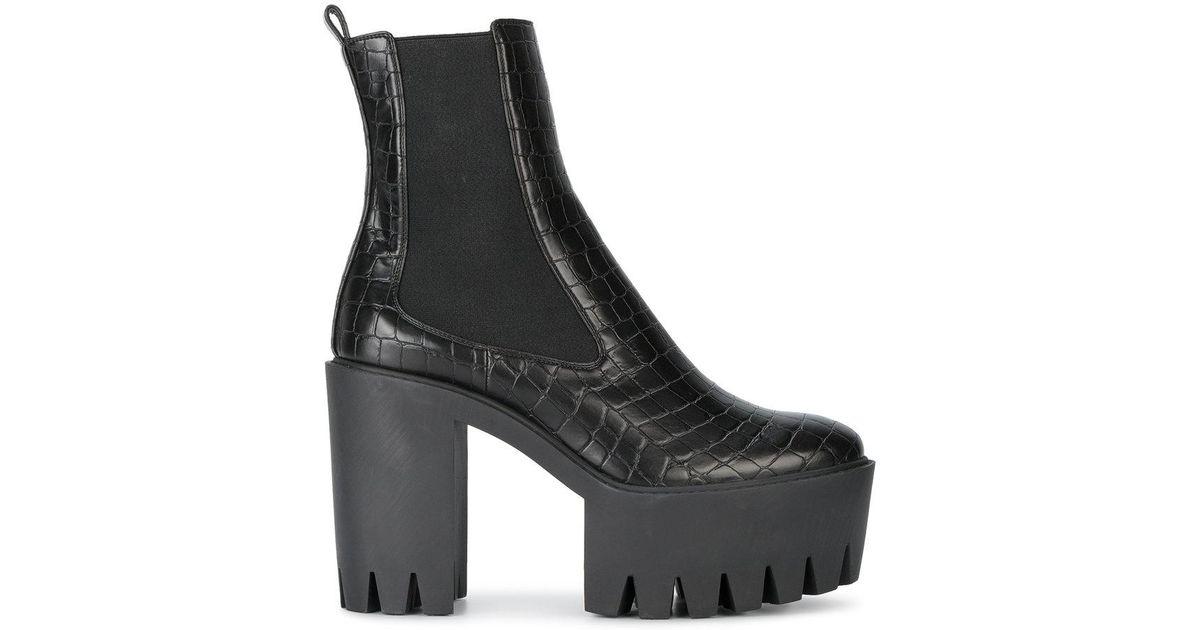 f8de3940d881 Lyst - Stella McCartney Monster Boots in Black