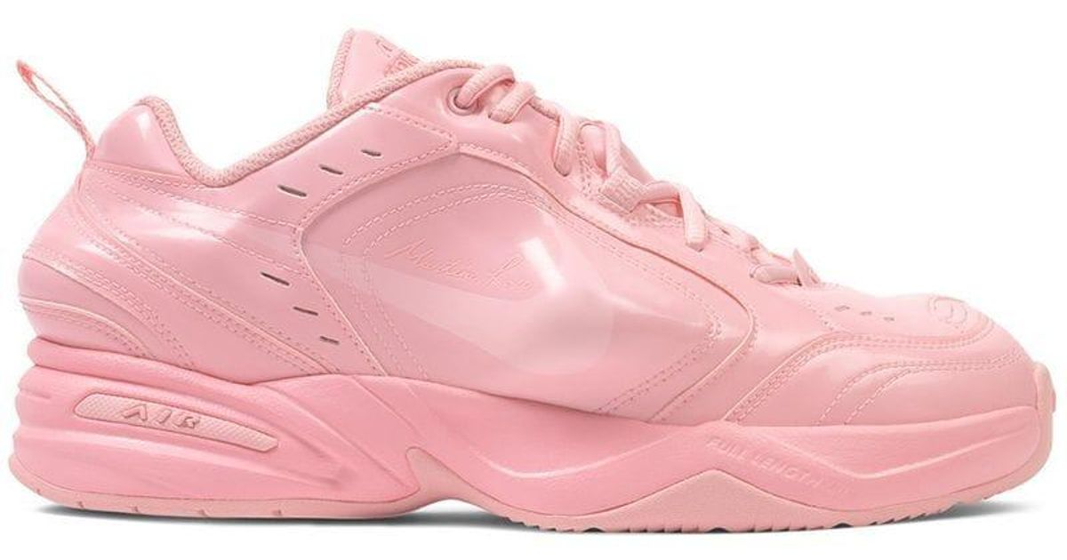 5810d1ba19c Lyst - Nike Pink X Martine Rose Air Monarch Iv Sneakers in Pink