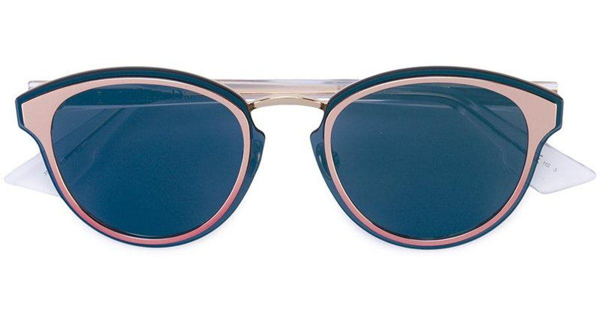 502cad20e0 Dior Nightfall Sunglasses in Blue - Lyst