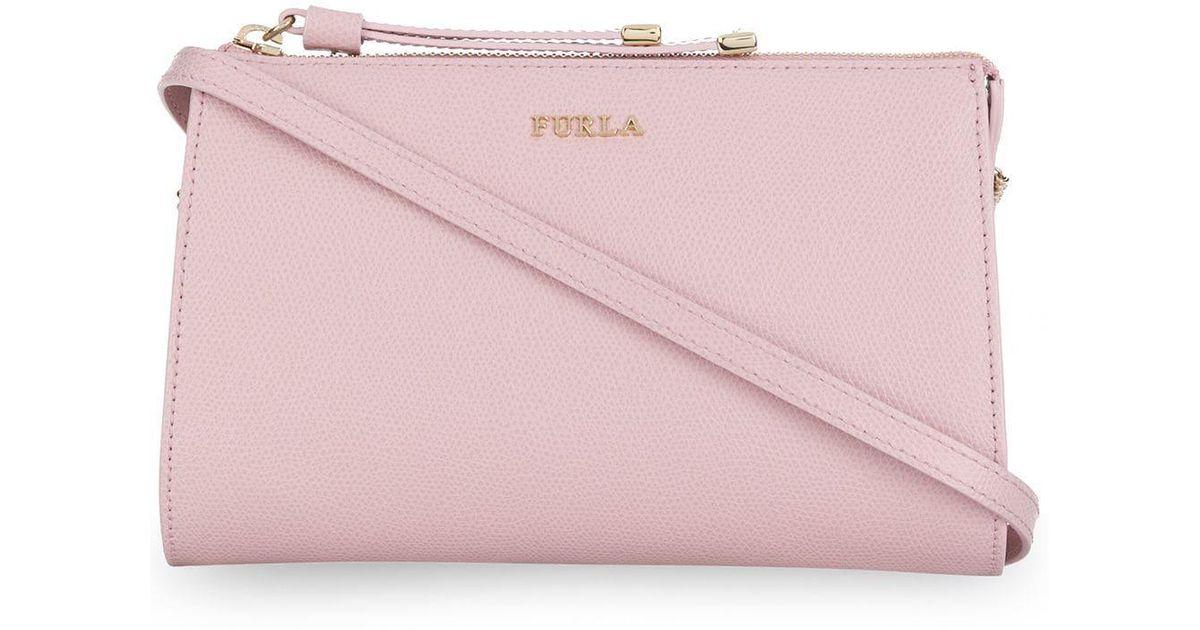 Sac Bandoulière À Pink Furla Coloris Luna En 2eWE9IDbHY