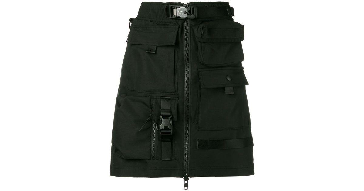 d93f876ec Nike X Mmw 2-in-1 Skirt in Black - Lyst