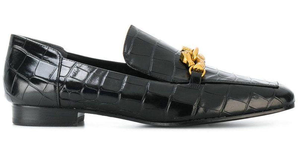 544a8f8c4 Lyst - Tory Burch Jessa Horse Hardware Loafer in Black