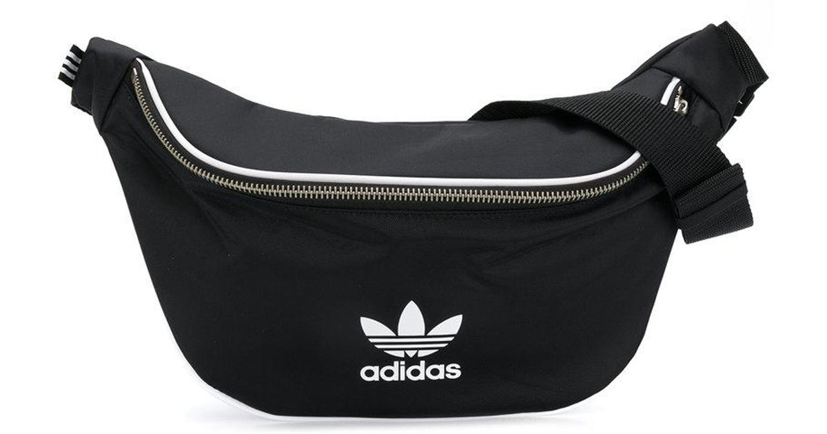 Lyst - adidas Waist Belt Bag in Black for Men