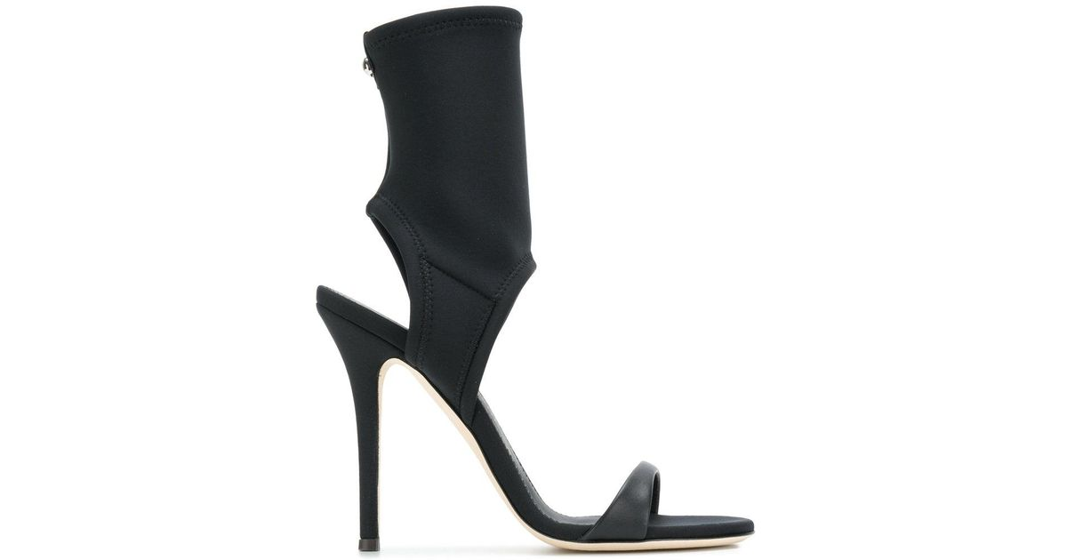 Giuseppe Zanotti Neoprene cut-out sandal AGNES