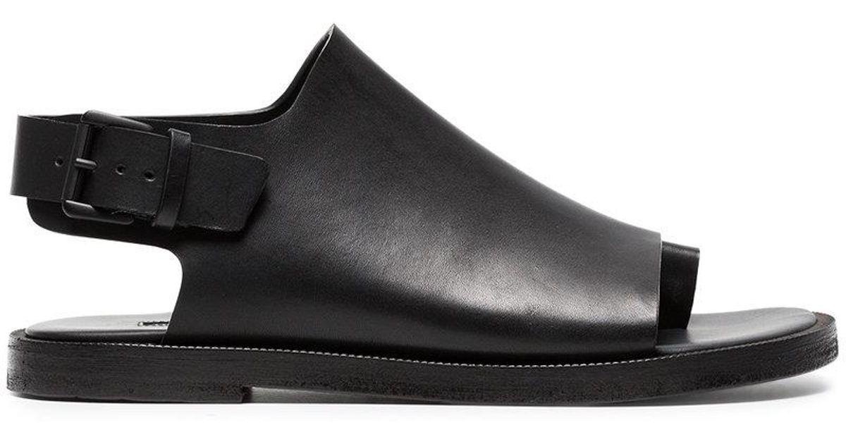 f5a8fd838fe0 ann-demeulemeester-Black-Black-15-Classic-Buckle-Leather-Sandals.jpeg