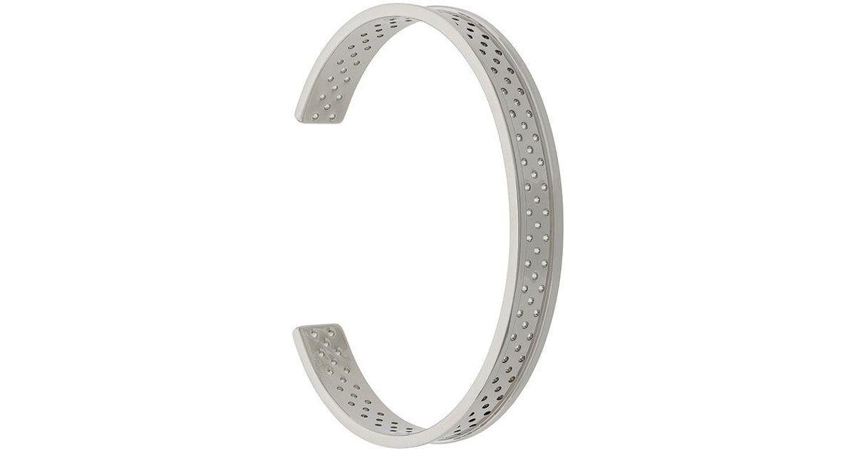 Northskull In Out cuff - Metallic koNLaB