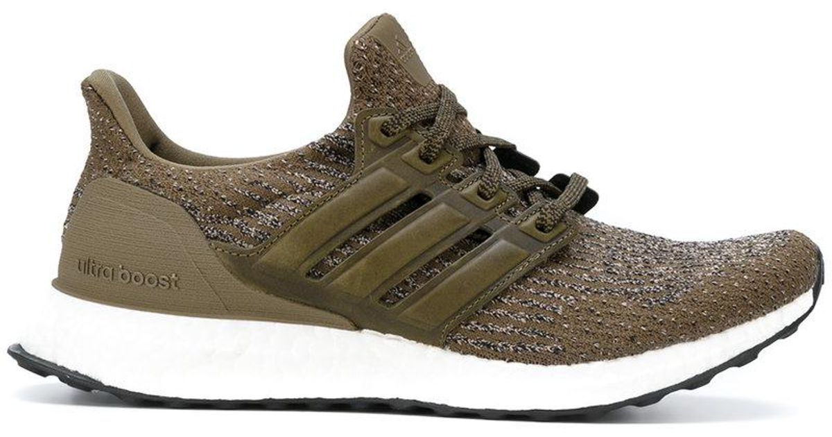 ba530d906e869 Lyst - adidas Ultra Boost Lace Up Sneakers in Green for Men
