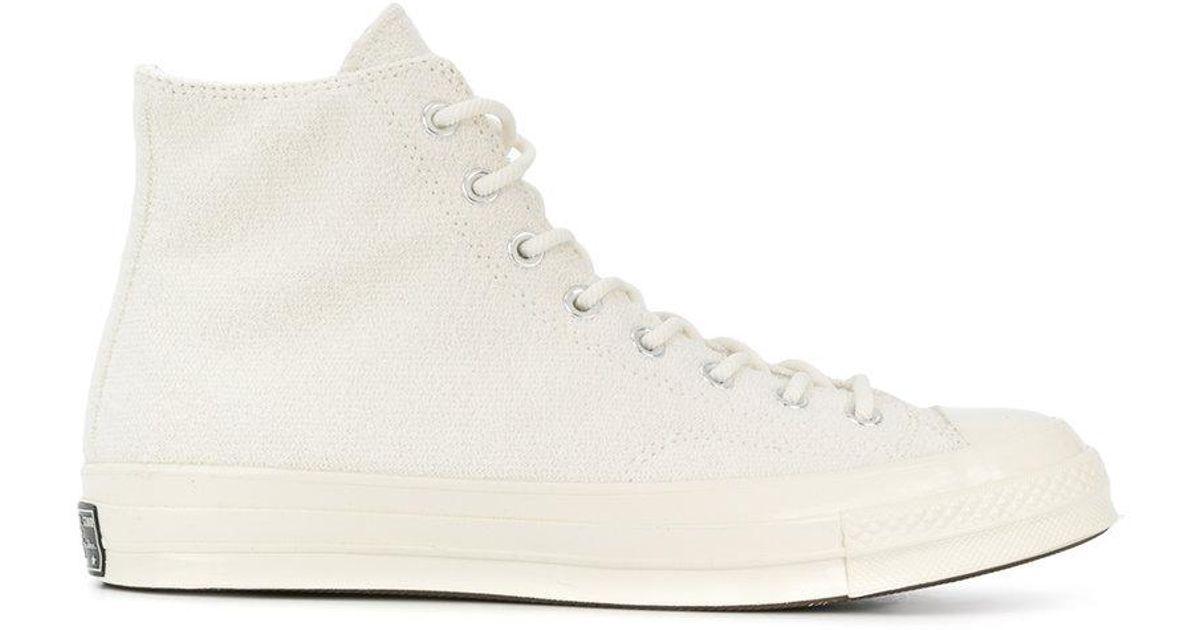a45b9bfc467b19 Lyst - Converse Classic Hi-tops in White