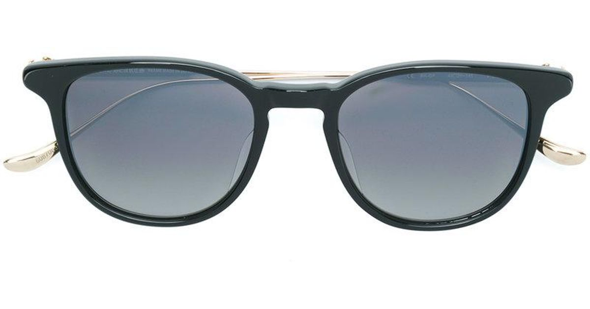 Chrome Hearts Round-frame Sunglasses in Black - Lyst