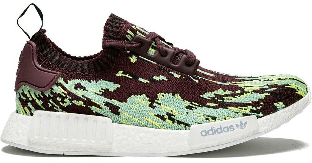 Adidas Brown Nmd R1 Pk Sneakers for Men Lyst