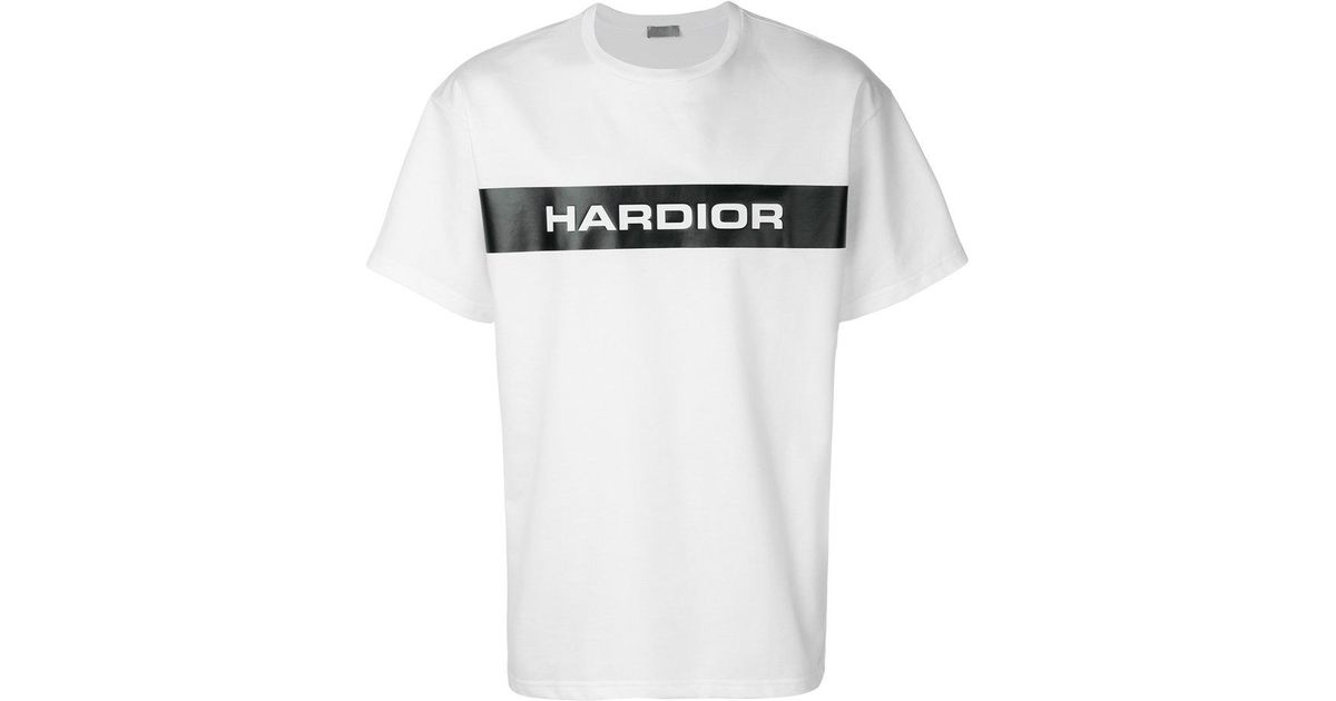 730b29e63bc Lyst - Dior Homme Hardior T-shirt in White for Men