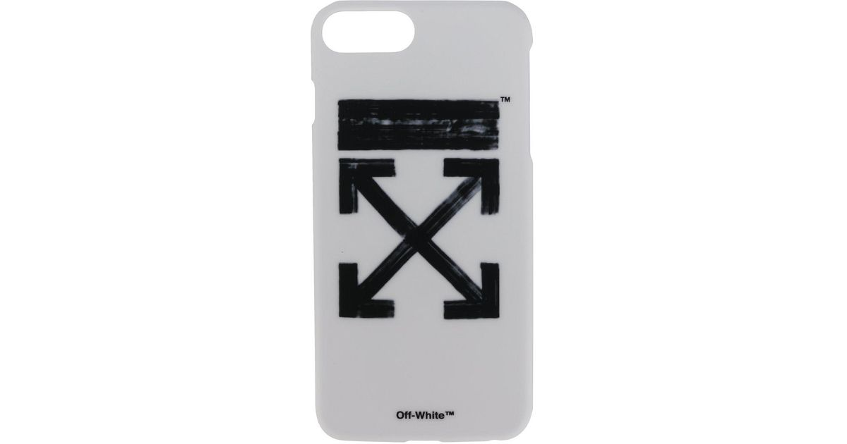 timeless design bd701 2f03a Off-White c/o Virgil Abloh White Brushed Arrows Iphone 7 Plus Case