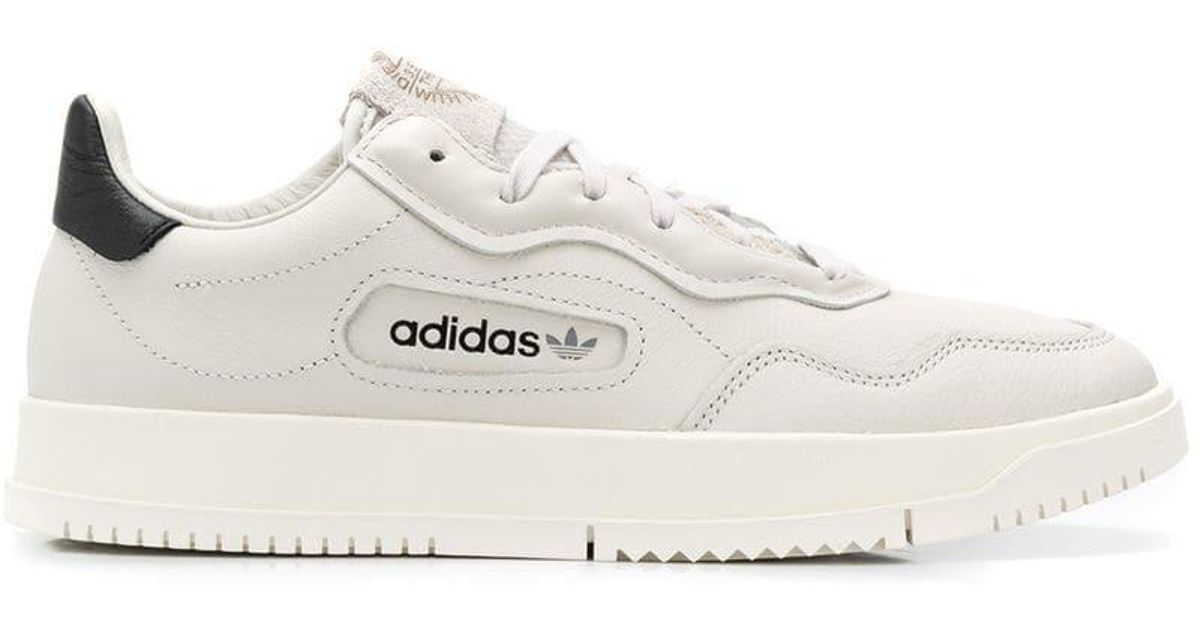 adidas Leather Thick Sole Sneakers in