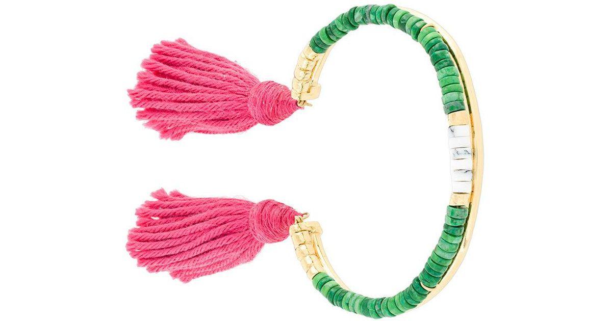 Aurélie Bidermann Howlite Sioux bracelet - Metallic Ku6Mv