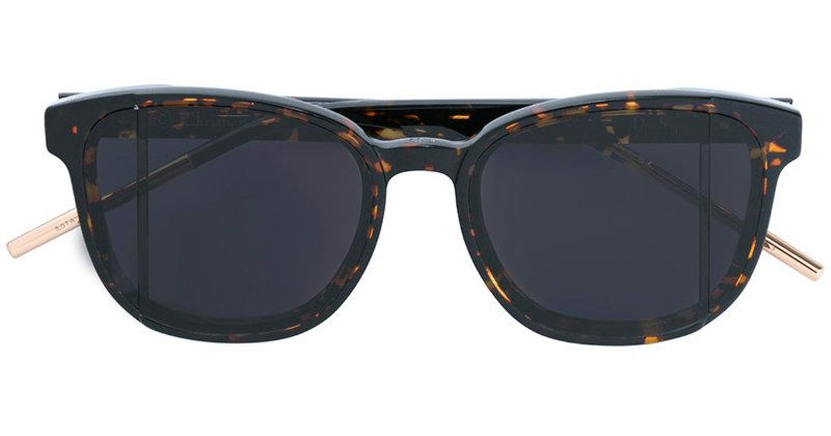 111fd060584d Lyst - Dior Dior Step Sunglasses in Brown