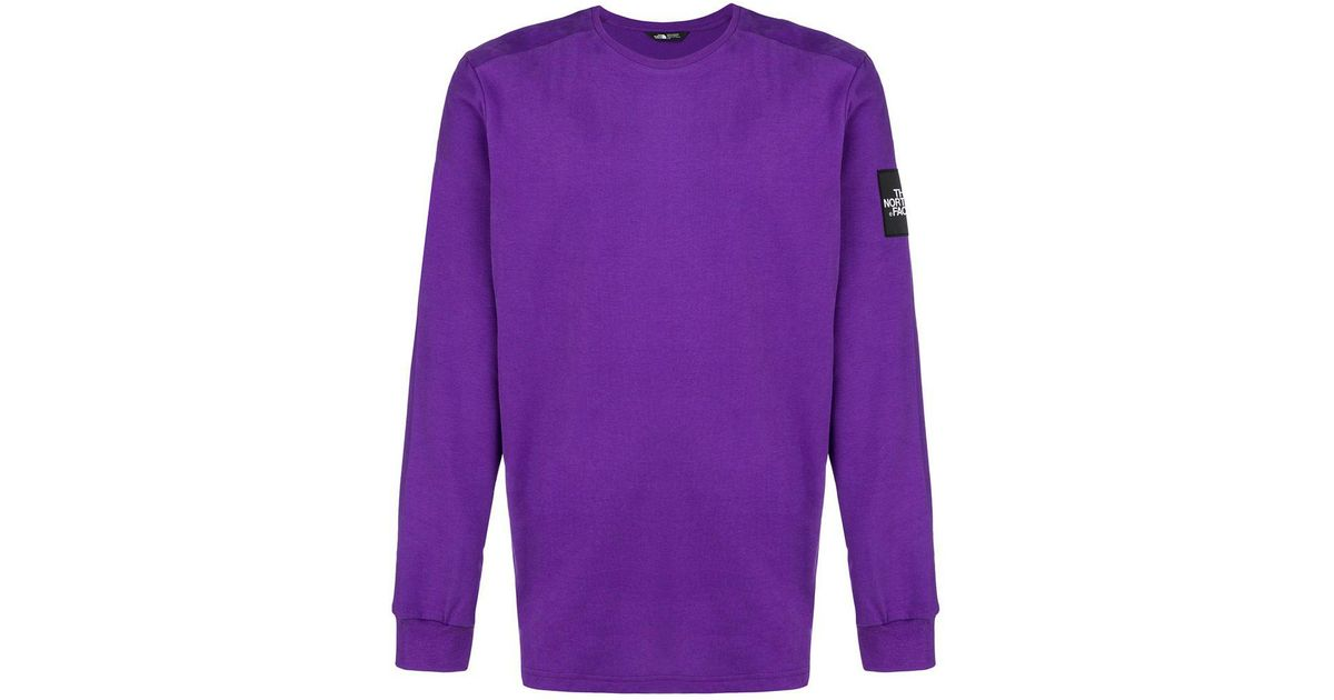 a0edb6b74 The North Face Purple Fine 2 T-shirt for men