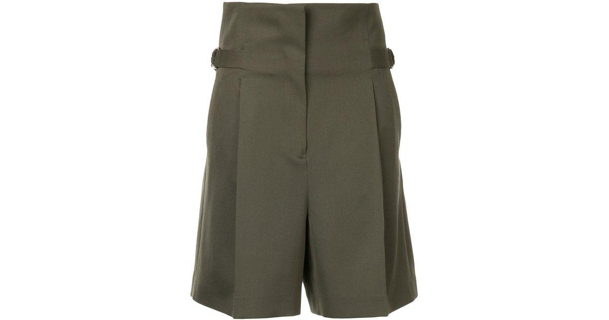 belted waist shorts - Green Jil Sander LBhWy
