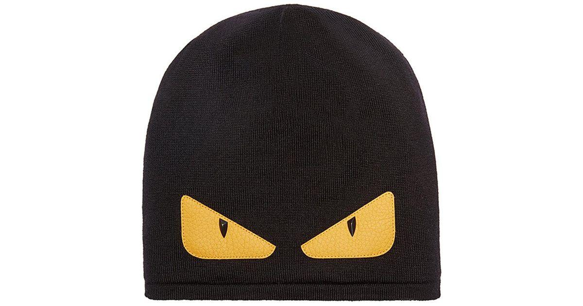 851ed8670b204 Lyst - Fendi Hat Hat in Black for Men - Save 26%